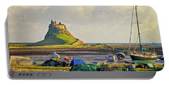 Holy Island And Lindisfarne Castle Portable Battery Charger