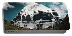 Holy Kailas North Slop Himalayas Tibet Yantra.lv Portable Battery Charger