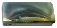 Portable Battery Charger featuring the photograph Holy Supercell  by Aaron J Groen