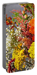 Portable Battery Charger featuring the photograph Holy Week Flowers 2017 2 by Sarah Loft