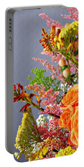 Portable Battery Charger featuring the photograph Holy Week Flowers 2017 3 by Sarah Loft