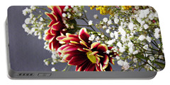 Portable Battery Charger featuring the photograph Holy Week Flowers 2017 5 by Sarah Loft