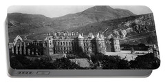 Holyrood From Calton Hill Portable Battery Charger