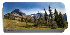 Portable Battery Charger featuring the photograph Homage To The Mountains  by Lon Dittrick