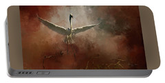 Portable Battery Charger featuring the photograph Home Coming by Marvin Spates