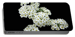 Home Grown White Flowers  Portable Battery Charger
