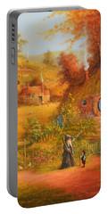 Home Sweet Home Portable Battery Charger by Joe Gilronan