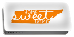 Portable Battery Charger featuring the digital art Home Sweet Home Tennessee by Heather Applegate