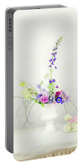 Homegrown Floral Bouquet Portable Battery Charger