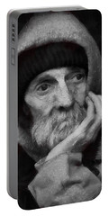 Homeless Portable Battery Charger by Gun Legler