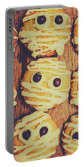 Homemade Mummy Cookies Portable Battery Charger