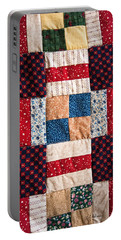 Homemade Quilt Portable Battery Charger by Christopher Holmes