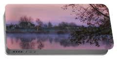 Portable Battery Charger featuring the photograph Hometown Sunrise by Lynn Hopwood