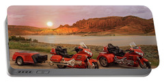 Honda Goldwing Bike Trike And Trailer Portable Battery Charger