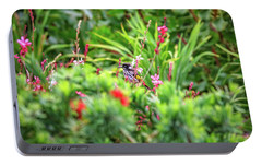 Portable Battery Charger featuring the photograph Honey Eater, Bushy Lakes by Dave Catley