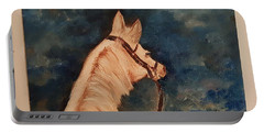 Honey Palomino Horse 28 Portable Battery Charger