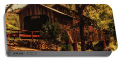 Honey Run Covered Bridge Portable Battery Charger