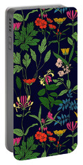 Honeysuckle Floral Portable Battery Charger