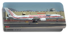 Honeywell Boeing 757-225 N757hw Phoenix Sky Harbor September 30 2017 Portable Battery Charger