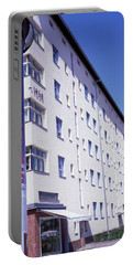 Honk Kong And Building In Berlin Portable Battery Charger
