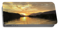 Hood River Golden Sunset Portable Battery Charger