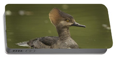 Hooded Merganser Portable Battery Charger