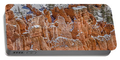 Hoodoos After A Snowfall Portable Battery Charger