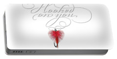 Hooked On You Portable Battery Charger