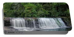 Hooker Falls Portable Battery Charger by Steven Richardson