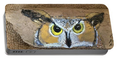 Hoot Owl Portable Battery Charger