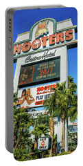 Hooters Casino Sign Portable Battery Charger