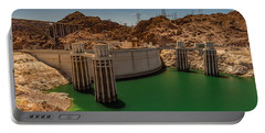 Hoover Dam Portable Battery Charger by Ed Clark