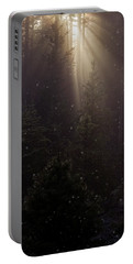 Portable Battery Charger featuring the photograph Hope And Faith - Winter Art by Jordan Blackstone