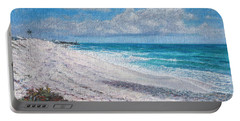 Hope Town Beach Portable Battery Charger