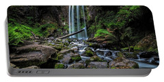 Hopetoun Falls Portable Battery Charger by Mark Lucey