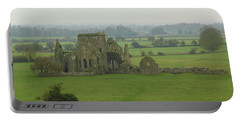 Portable Battery Charger featuring the photograph Hore Abbey by Marie Leslie