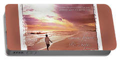 Horizon Of Hope Portable Battery Charger by Marie Hicks