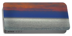 Horizontal Sunset Portable Battery Charger