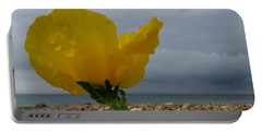 Horned Poppy By The Sea Portable Battery Charger
