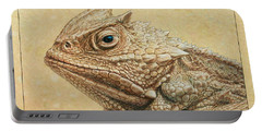 Horned Toad Portable Battery Charger