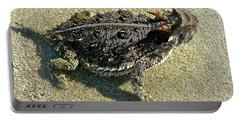 Horny Toad Lizard Portable Battery Charger