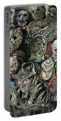 Horror Movie Murderers Portable Battery Charger