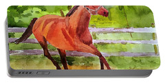 Horse #3 Portable Battery Charger