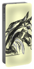 horse - Apple digital Portable Battery Charger