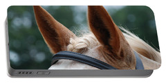 Horse At Attention Portable Battery Charger