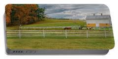 Horse Barn In Ohio  Portable Battery Charger