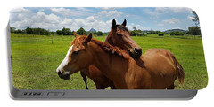 Horse Cuddles Portable Battery Charger