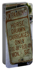 Horse Drawn Carriage Parking Portable Battery Charger