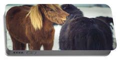 Horse Friends Forever Portable Battery Charger
