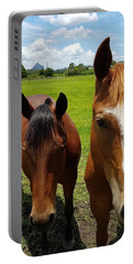 Horse Friendship Portable Battery Charger
